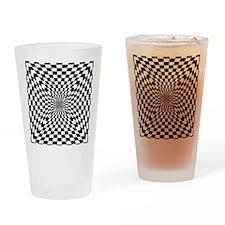 Optical Checks Drinking Glass