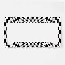 Optical Checks License Plate Holder