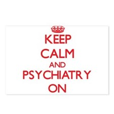 Keep Calm and Psychiatry Postcards (Package of 8)