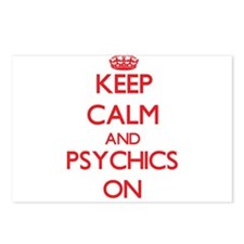 Keep Calm and Psychics ON Postcards (Package of 8)