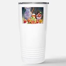 Watercolor Fruit Jug St Stainless Steel Travel Mug