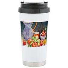 Watercolor Fruit Jug St Thermos Mug