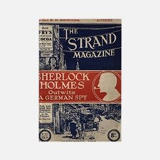 sherlock holmes cover art Rectangle Magnet