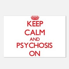 Keep Calm and Psychosis O Postcards (Package of 8)