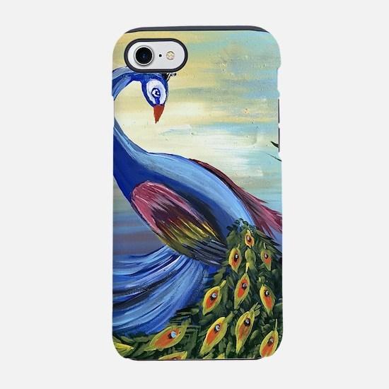 Peacock Life iPhone 7 Tough Case