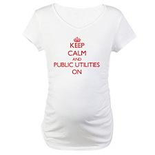 Keep Calm and Public Utilities O Shirt