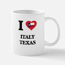 I love Italy Texas Mugs