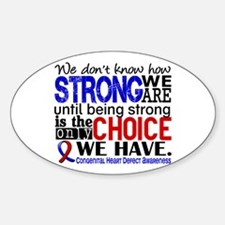 Congenital Heart Defect HowStrongWe Decal