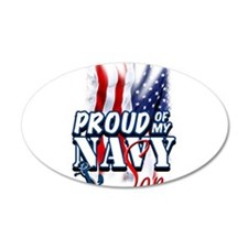 Proud of my Navy Son Wall Decal