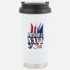 Proud of my Navy Son Travel Mug