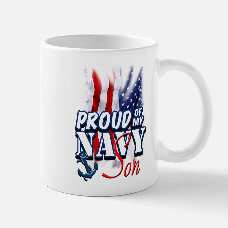 Proud of my Navy Son Mugs
