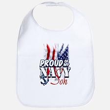 Proud of my Navy Son Bib