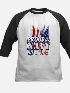 Proud of my Navy Son Baseball Jersey