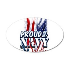 Proud of my Navy Soldier Wall Decal