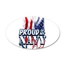 Proud of my Navy Dad Wall Decal