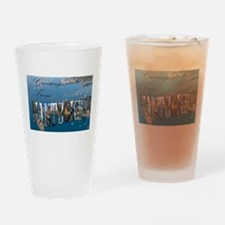Nantucket Welcome Drinking Glass