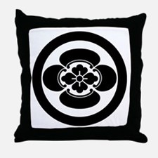 Mokko in a circle Throw Pillow