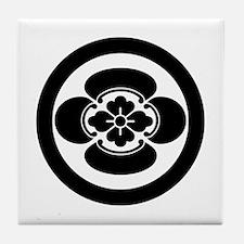 Mokko in a circle Tile Coaster