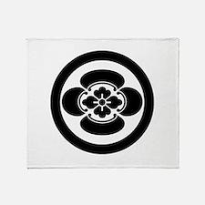 Mokko in a circle Throw Blanket