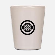Mokko in a circle Shot Glass