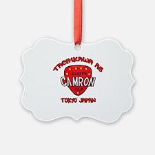 camron TAB tachikawa air base Ornament