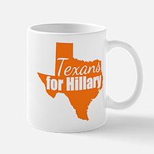 Texans for Hillary Mug