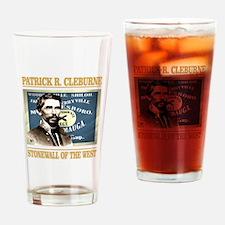 Patrick Cleburne Drinking Glass