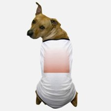 Pastel Pink ombre Dog T-Shirt