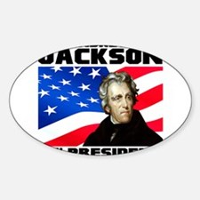 07 Jackson Sticker (Oval)