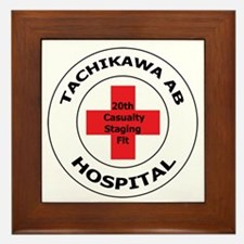 20th Casualty Tachikawa Air Base Framed Tile