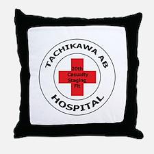 20th Casualty Tachikawa Air Base Throw Pillow