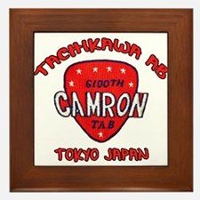 camron TAB tachikawa air base Framed Tile