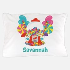 Custom Name Candyland Birthday Pillow Case