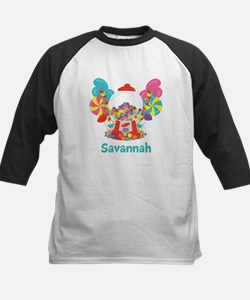 Custom Name Candyland Birthday Baseball Jersey