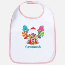 Custom Name Candyland Birthday Bib