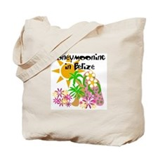 Honeymoon Belize Tote Bag