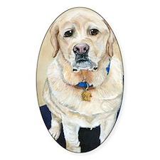 Yellow Labrador Retriever Decal