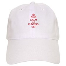 Keep Calm and Punting ON Baseball Cap