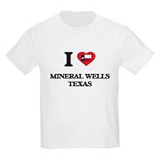 I love Mineral Wells Texas T-Shirt
