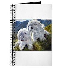 Cute Bichon Journal