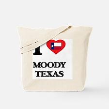 I love Moody Texas Tote Bag