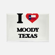 I love Moody Texas Magnets