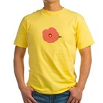 Lotus Flower Yellow T-Shirt