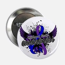"Childhood Stroke Awareness 16 2.25"" Button"