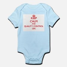 Keep Calm and Quality Control ON Body Suit