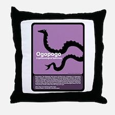 Ogopogo Throw Pillow
