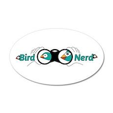 Bird nerd Wall Decal