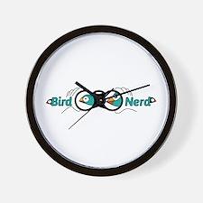 Bird nerd Wall Clock