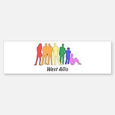 West Allis diversity Bumper Bumper Bumper Sticker