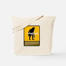 Orang Pendek Tote Bag